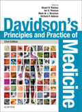 Image of the book cover for 'Davidson's Principles and Practice of Medicine'