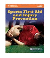 Image of the book cover for 'Sports First Aid and Injury Prevention'