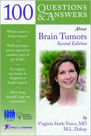 Image of the book cover for '100 Questions & Answers About Brain Tumors'