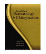 Image of the book cover for 'Essentials Of Dermatology For Chiropractors'