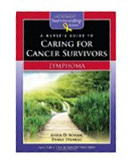 Image of the book cover for 'A Nurse's Guide To Caring For Cancer Survivors: Lymphoma'