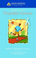 Image of the book cover for 'Johns Hopkins Patients' Guide To Prostate Cancer'
