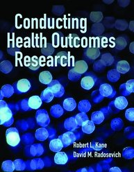 Image of the book cover for 'Conducting Health Outcomes Research'