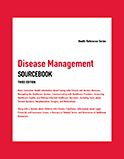 Image of the book cover for 'Disease Management Sourcebook'