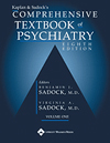 Image of the book cover for 'KAPLAN & SADOCK'S COMPREHENSIVE TEXTBOOK OF PSYCHIATRY'