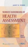 Image of the book cover for 'NURSES' HANDBOOK OF HEALTH ASSESSMENT'