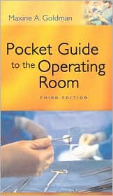 Image of the book cover for 'Pocket Guide to the Operating Room'