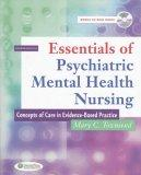 Image of the book cover for 'ESSENTIALS OF PSYCHIATRIC MENTAL HEALTH NURSING'