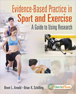 Image of the book cover for 'EVIDENCE-BASED PRACTICE IN SPORT AND EXERCISE'