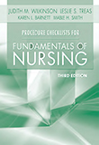 Image of the book cover for 'Procedure Checklists for Fundamentals of Nursing'