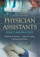 Image of the book cover for 'Physician Assistants'