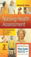 Image of the book cover for 'Nursing Health Assessment'