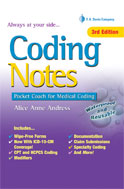 Image of the book cover for 'Coding Notes'