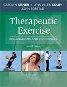 Image of the book cover for 'Therapeutic Exercise'