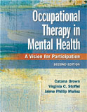 Image of the book cover for 'Occupational Therapy in Mental Health'