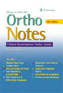 Image of the book cover for 'Ortho Notes'