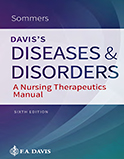 Image of the book cover for 'Davis's Diseases and Disorders'