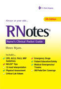 Image of the book cover for 'RNotes'