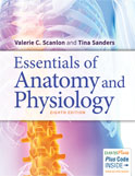 Image of the book cover for 'Essentials of Anatomy and Physiology'