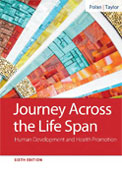 Image of the book cover for 'Journey Across the Life Span'