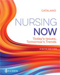 Image of the book cover for 'Nursing Now: Today's Issues, Tomorrow's Trends'