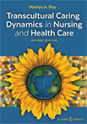 Image of the book cover for 'Transcultural Caring Dynamics in Nursing and Health Care'