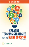 Image of the book cover for 'Creative Teaching Strategies for the Nurse Educator'