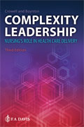 Image of the book cover for 'Complexity Leadership'