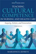 Image of the book cover for 'TEACHING CULTURAL COMPETENCE IN NURSING AND HEALTH CARE'