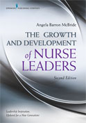 Image of the book cover for 'The Growth and Development of Nurse Leaders'