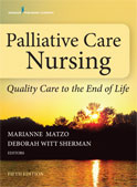 Image of the book cover for 'Palliative Care Nursing'