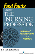 Image of the book cover for 'Fast Facts About the Nursing Profession'