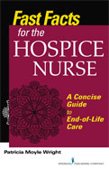 Image of the book cover for 'Fast Facts for the Hospice Nurse'