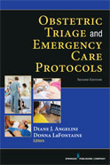 Image of the book cover for 'Obstetric Triage and Emergency Care Protocols'