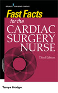 Image of the book cover for 'Fast Facts for the Cardiac Surgery Nurse'