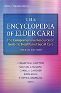 Image of the book cover for 'The Encyclopedia of Elder Care'