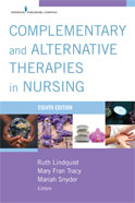 Image of the book cover for 'Complementary and Alternative Therapies in Nursing'