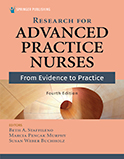 Image of the book cover for 'Research for Advanced Practice Nurses'