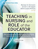Image of the book cover for 'Teaching in Nursing and Role of the Educator'