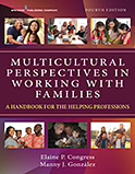 Image of the book cover for 'Multicultural Perspectives in Working With Families'