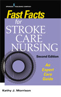 Image of the book cover for 'Fast Facts for Stroke Care Nursing'
