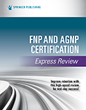 Image of the book cover for 'FNP and AGNP Certification Express Review'