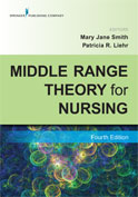 Image of the book cover for 'Middle Range Theory for Nursing'