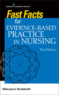 Image of the book cover for 'Fast Facts for Evidence-Based Practice in Nursing'