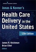 Image of the book cover for 'Jonas & Kovner's Health Care Delivery in the United States'