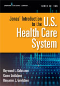 Image of the book cover for 'Jonas' Introduction to the U.S. Health Care System'