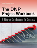 Image of the book cover for 'The DNP Project Workbook'