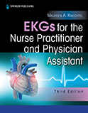 Image of the book cover for 'EKGs for the Nurse Practitioner and Physician Assistant'