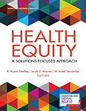 Image of the book cover for 'Health Equity'