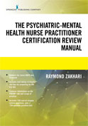 Image of the book cover for 'The Psychiatric-Mental Health Nurse Practitioner Certification Review Manual'